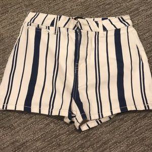 Urban Outfitters Stripped Shorts